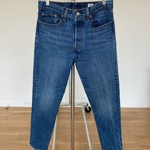 LEVI'S White Oak Cone Denim Jeans